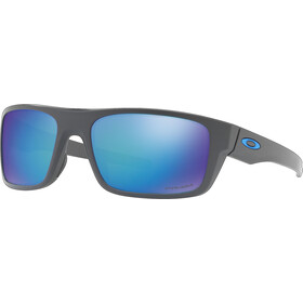 Oakley Drop Point Lunettes, matte dark grey/prizm sapphire polarized